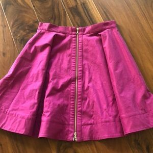 Hot pink Elizabeth and James mini circle skirt sz2